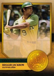 2012 Topps Golden Greats Reggie Jackson