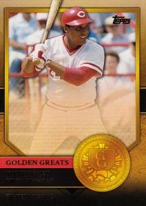 2012 Topps Golden Greats Tony Perez
