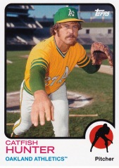 2014 Archives 73 Topps Catfish Hunter