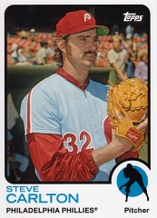 2014 Archives 73 Topps Steve Carlton