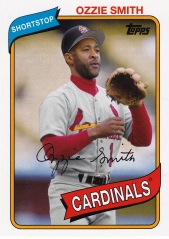2014 Archives 80 Topps Ozzie Smith