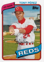 2014 Archives 80 Topps Tony Perez