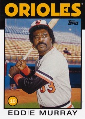 2014 Archives 86 Topps Eddie Murray