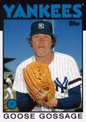2014 Archives 86 Topps Goose Gossage