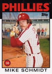 2014 Archives 86 Topps Mike Schmidt