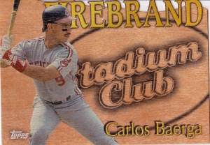 2014 Archives box 1 Stadium Club Firebrand Baerga
