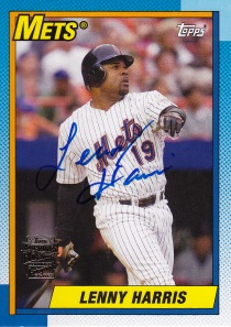 2014 Archives box 2 Fan Favorite Auto Lenny Harris