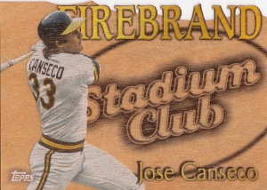 2014 Archives box 2 SC Firebrand Canseco