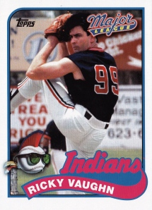 2014 Topps Archives Major League 5x7 Ricky Vaughn