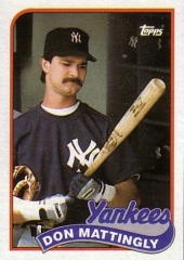 1989 Topps Don Mattingly