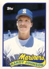 1989 Topps Randy Johnson