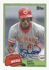2014 Archives 81 Mini Auto Eric Davis