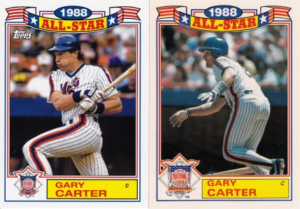 2014 Archives 87AS comparison Gary Carter