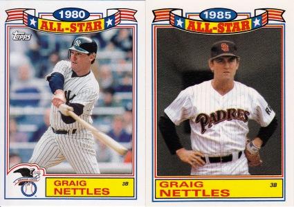 2014 Archives 87AS comparison Graig Nettles