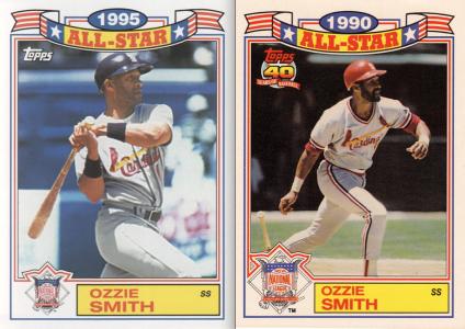 2014 Archives 87AS comparison Ozzie Smith