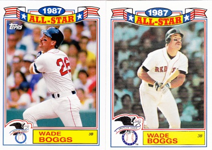 2014 Archives 87AS comparison Wade Boggs
