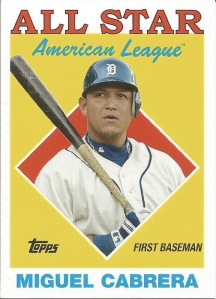 2014 Archives 88 AS Miguel Cabrera