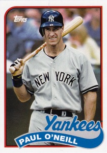 2014 Archives 89 Topps Paul O'Neill