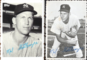 2014 Archives Deckle comparison Stottlemyre