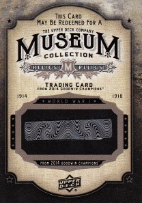 2014 Goodwin box 3 Museum Collection redemption