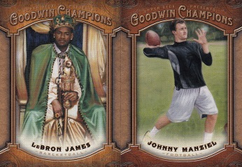 2014 Goodwin Lebron & Johnny Football