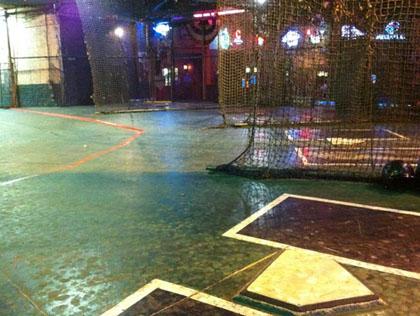 Sluggers batting cage