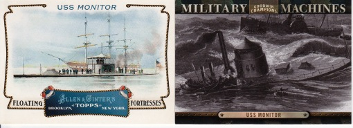 USS Monitor Goodwin Military & Ginter Fortresses