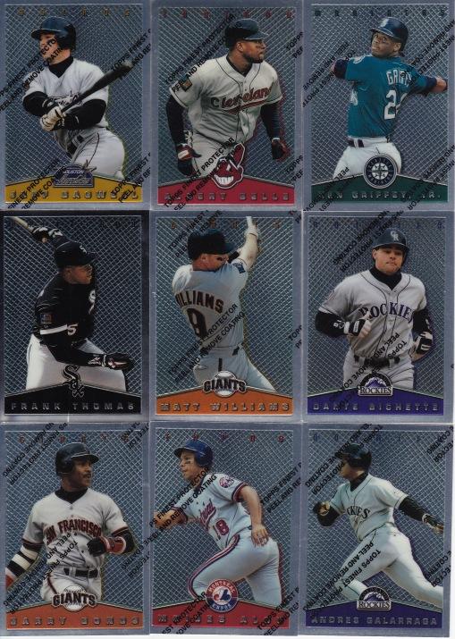 1995 Topps Finest insert set
