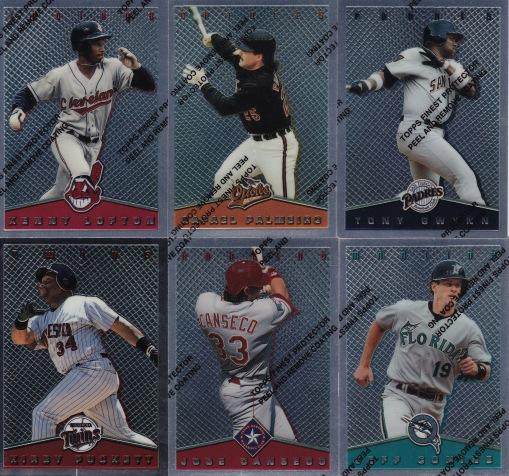 1995 Topps Finest insert set_0001