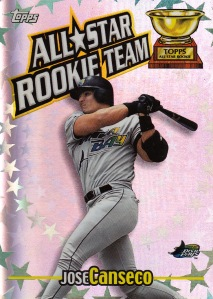 2000 Topps All Star Rookie Team s2 box