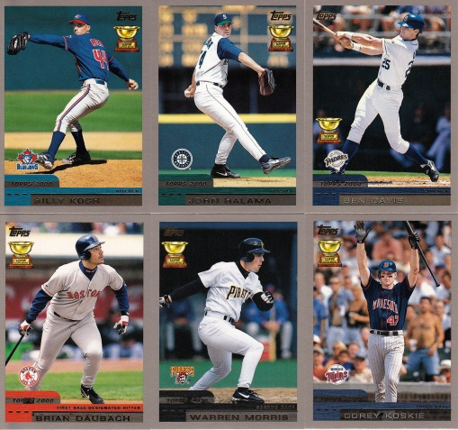 2000 Topps All-Star Rookie Team