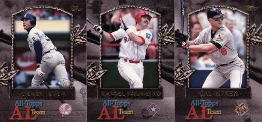 2000 Topps All Topps Team AL s2 box