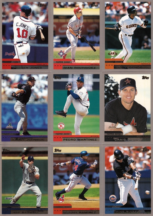 2000 Topps best players
