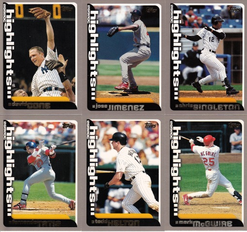 2000 Topps Highlights