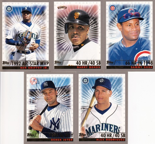 2000 Topps Magic Moments s2 box