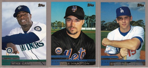 2000 Topps new uniforms