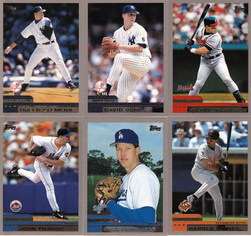 2000 Topps older players