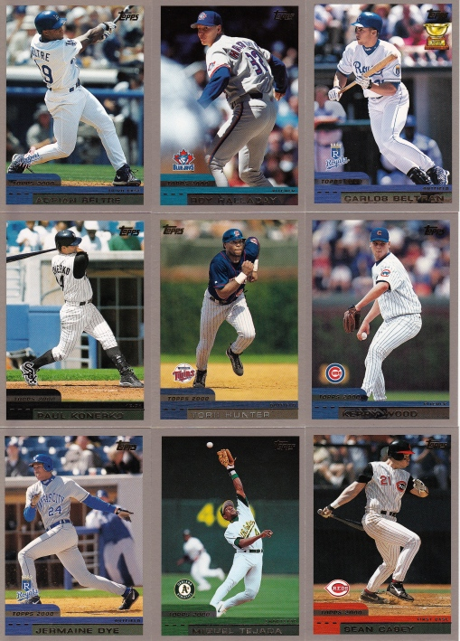 2000 Topps Soon to be Stars