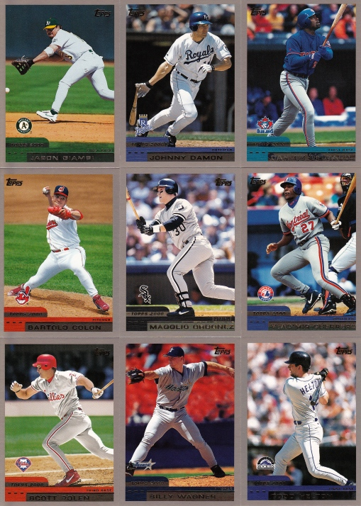 2000 Topps Young Stars