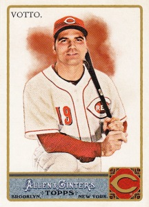 2011 Allen Ginter Joey Votto