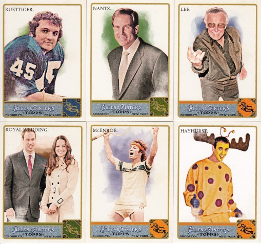 2011 Allen Ginter other notables