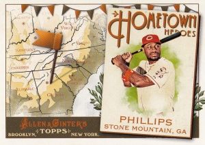 2011 Ginter HH Brandon Phillips
