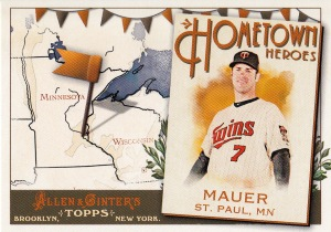 2011 Ginter HH Joe Mauer