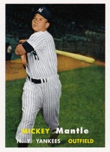2011 Topps 60 Years Mickey Mantle 57
