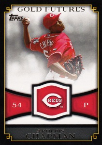 2012 Topps Gold Futures Chapman