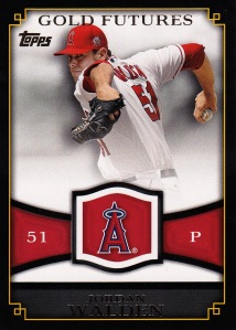2012 Topps Gold Futures Walden