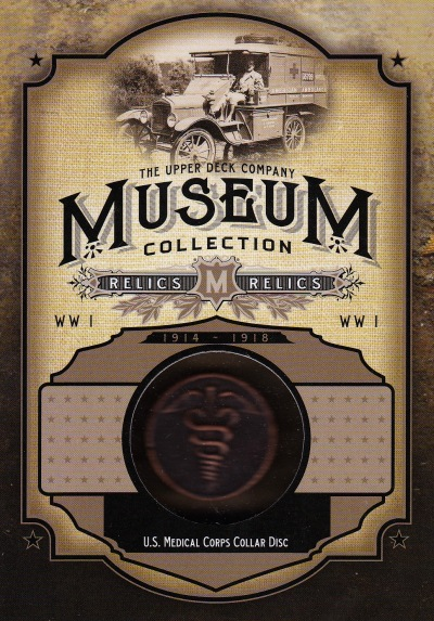 2014 Goodwin Museum Collection US Medical Corps Collar Disc