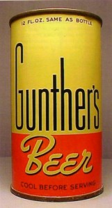 Gunther Beer can