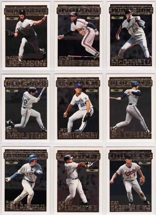 1994 Topps Black Gold set_0001