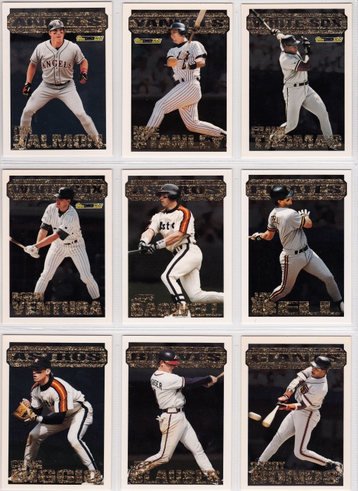 1994 Topps Black Gold set_0002